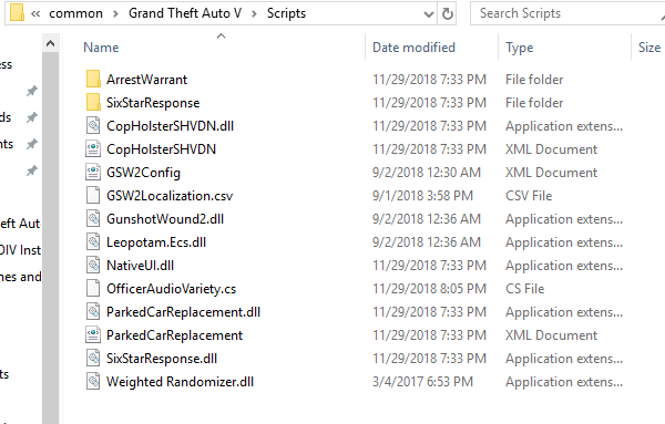 GTA V scripts for FiveM