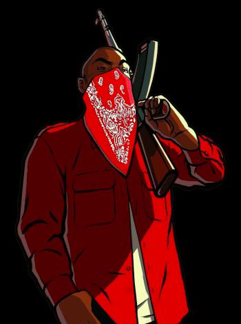 FiveM gang member