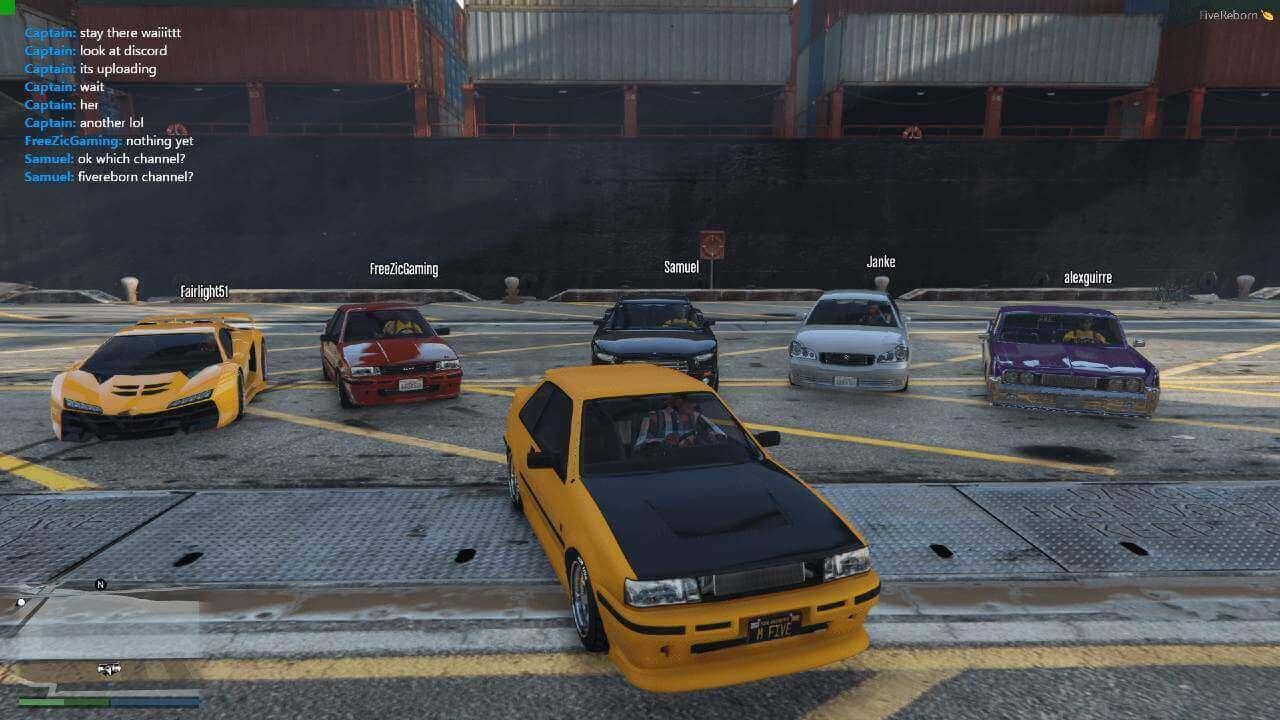 FiveM RP mods for GTA V